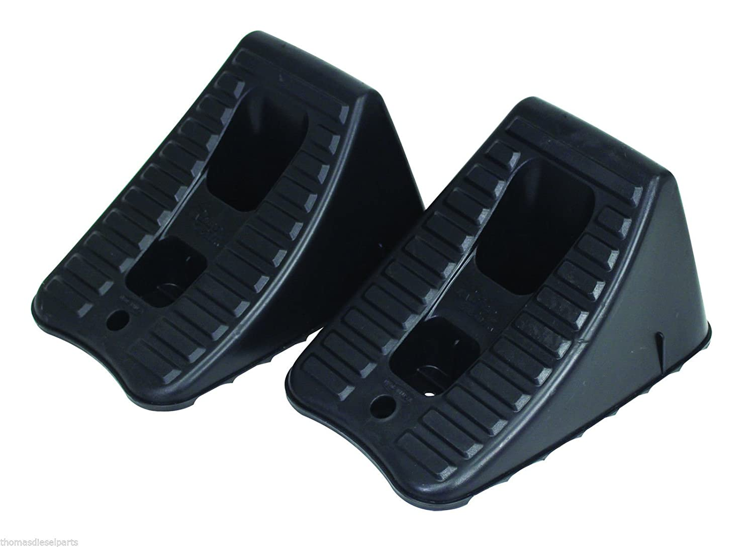 Rhino Gear Hopkins 11930MIE Heavy Duty Wheel Chocks (Pair)