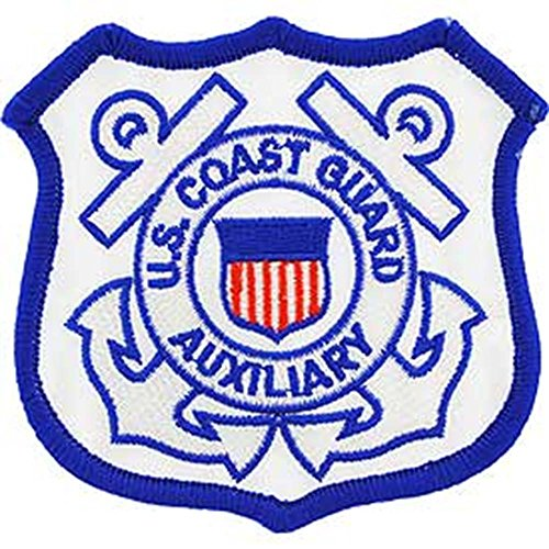 Auxiliary Patch - EagleEmblems PM0405 Patch-USCG,Auxiliary (3'')