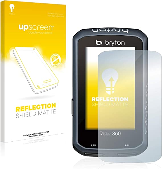 Reflection Shield Matte Screen Protector for Bafang DP C07 Multitouch Optimized Matte and Anti-Glare Strong Scratch Protection upscreen