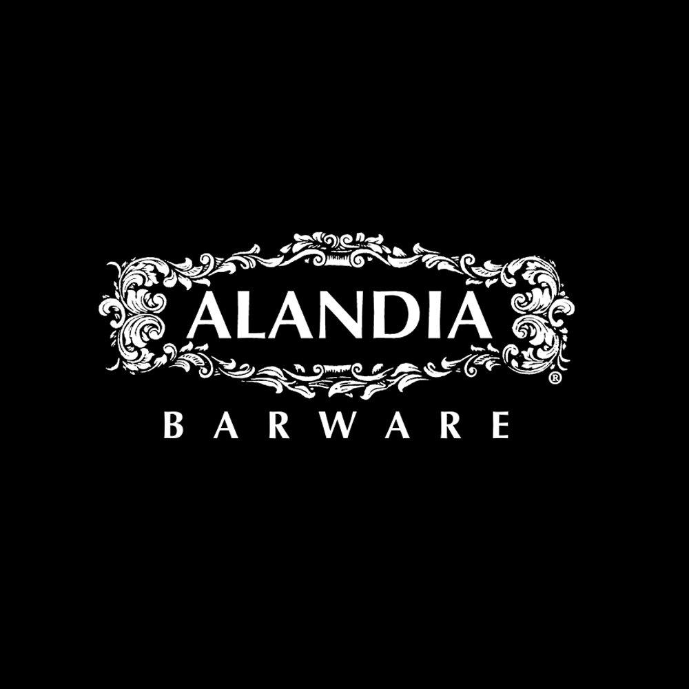 Premium Trinkhalm / Strohhalm aus Metall von ALANDIA: Ideal für ...