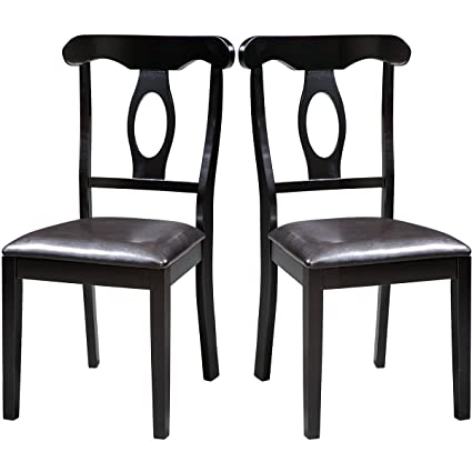 Harper Bright Design Wood Dining Chair Dining Room Side Chair, Set Of 2 ( Oval