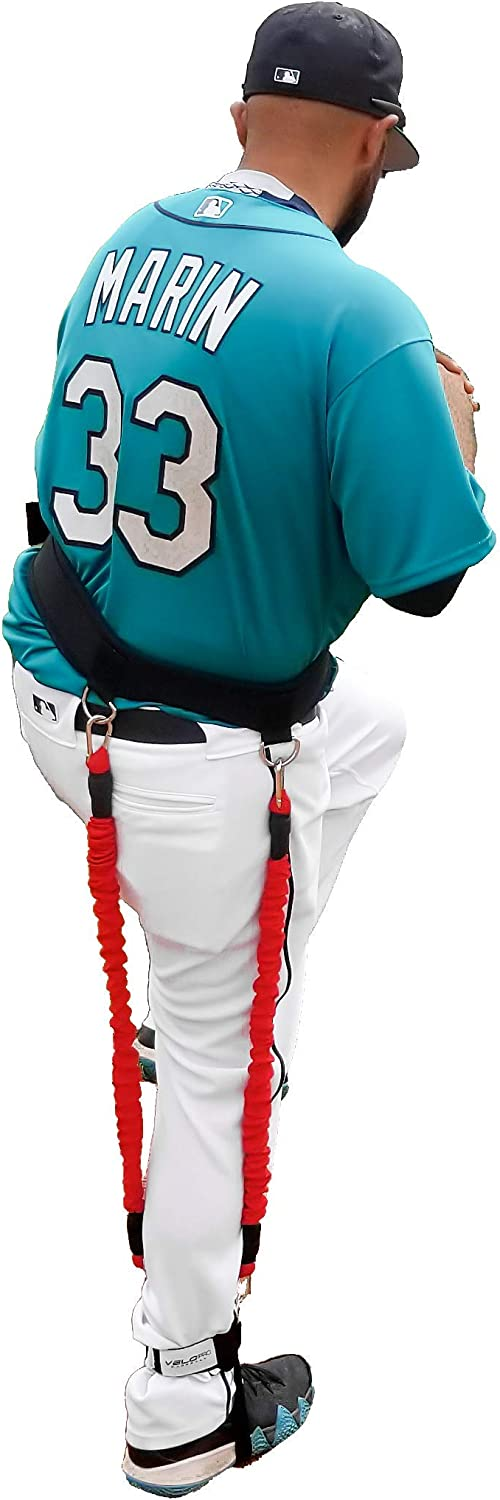Resistance Hitting /& Pitching Trainer Adds 4-7MPH of Batting Power or Pitch Velocity Get Instant Feedback With Each Rep Improves Swing and Pitching Mechanics Velopro Baseball Training Harness