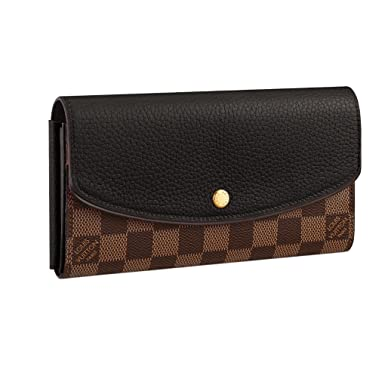 4d2b1079f9f1 Image Unavailable. Image not available for. Color  Louis Vuitton Damier  Canvas Normandy Wallet ...