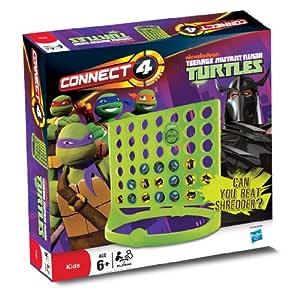 Guess - Juego de fichas Tortugas Ninja, 2 Jugadores (Winning Moves 20879) (versión en inglés)