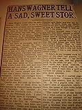 Baseball Scrapbook Early 20th Century