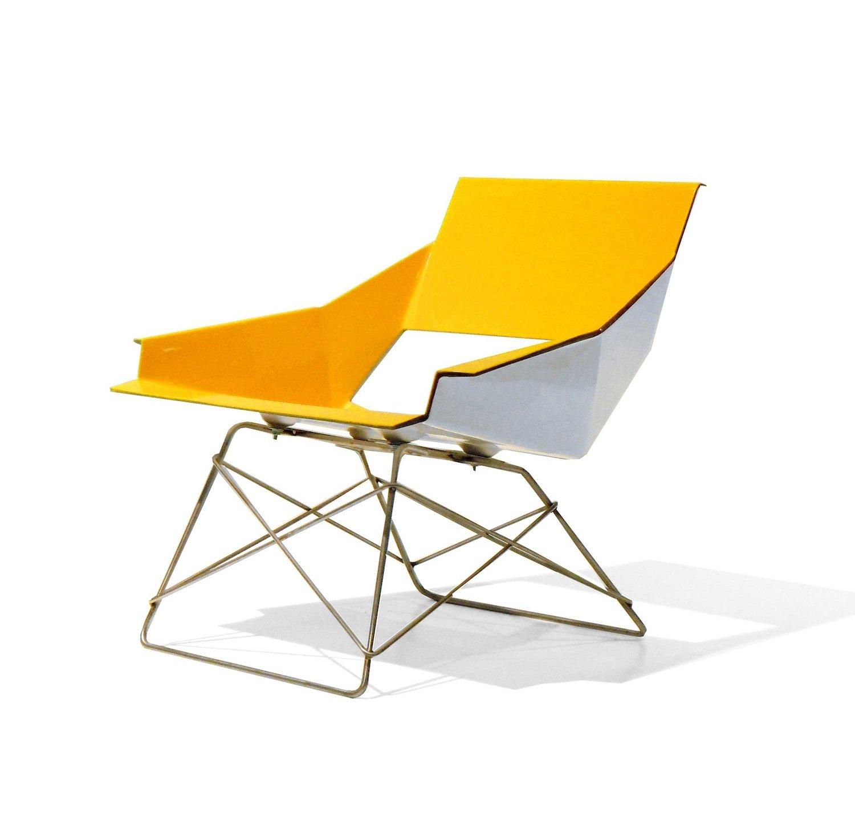 Amazon Markamoderna HSLM F Fiberglass Lounge Chair with