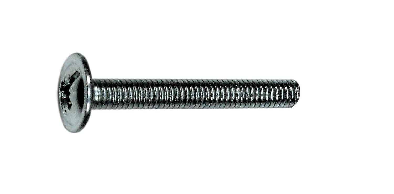 Stahl verzinkt Kombi-Schlitz-Z M/öbelgriffschrauben M 4 X30 mm 100 Stk