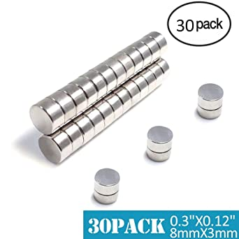 "20pcs craft hobby fridge neo earth cylinder magnet for sale 1//4/""dia x 1//4/""thick"