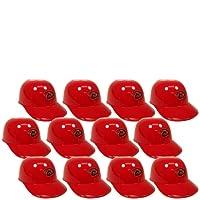 MLB Mini Batting Helmet Ice Cream Sundae/ Snack Bowls, Diamondbacks - 12 Pack