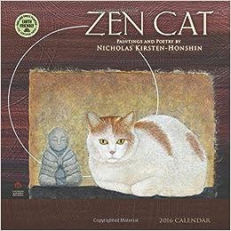 Amazon.com: Zen Cat 2016 Wall Calendar (9781631360534