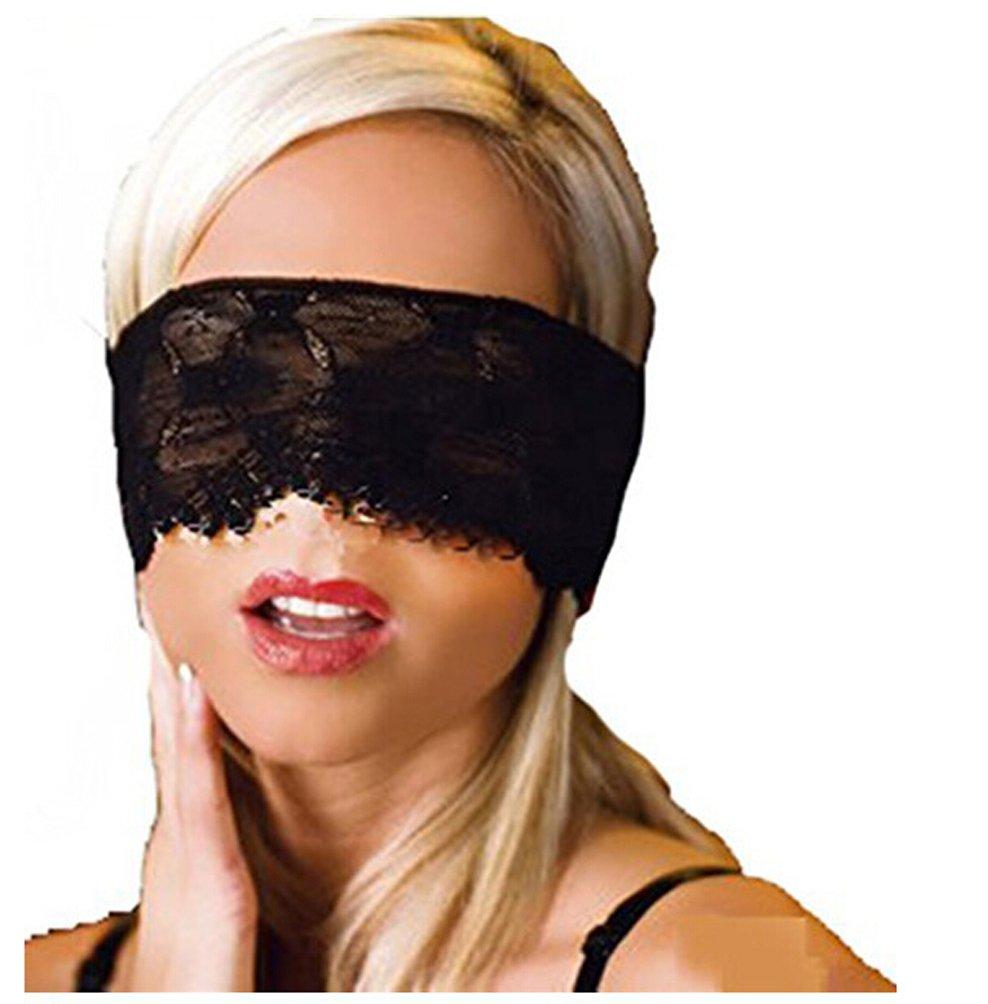 Edtoy ブラック ブラック スリーピングレース アイマスク コスチューム 目隠し付き ナイトウェア コスチューム 仮面舞踏会 パーティー B0148892SA 上面フェイスマスク B0148892SA, アクア ニューインナー:f8a025b5 --- forums.joybit.com