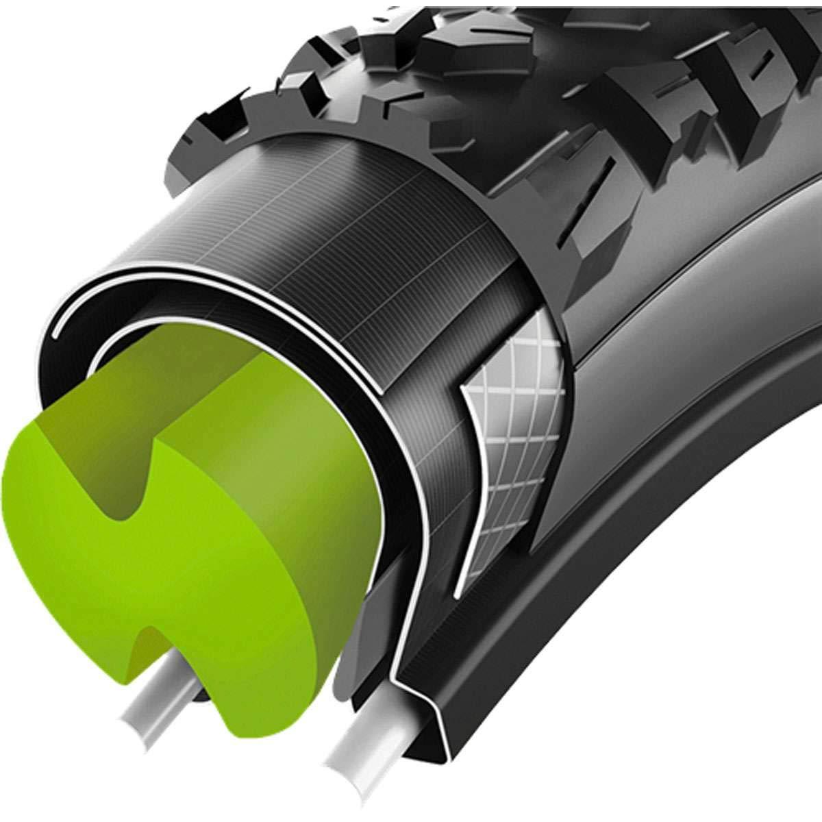 Vittoria Air-Liner Tire Insert Green, Medium, 2.5in by Vittoria