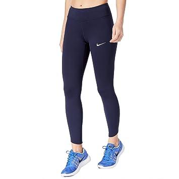 Nike W NK PWR Epic LX Tght Mesh Bas de survêtement Femme  Amazon.fr ... bf6eb1723f8
