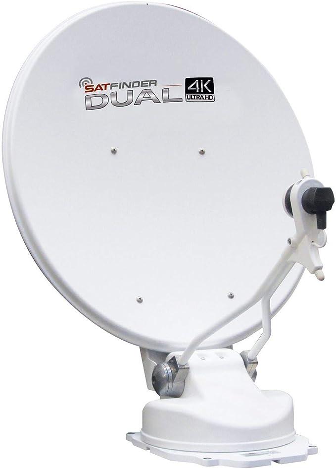 Antena de satélite automático UltraHD 4 K Dual 65: Amazon.es ...