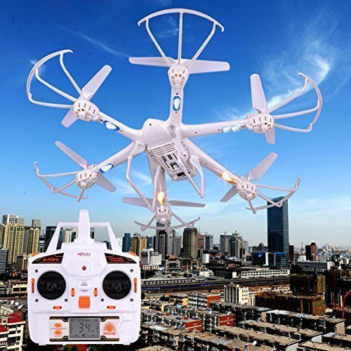 CHIMAERA RC Hexacopter MJX X600 Remote Control 2.4G 6 Axis FPV 3D (White) by CHIMAERA