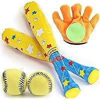 LIOOBO 1 Set eva Baseball Kit Baseball Toy Set para ni/ños ni/ños Deportes al Aire Libre Juguetes