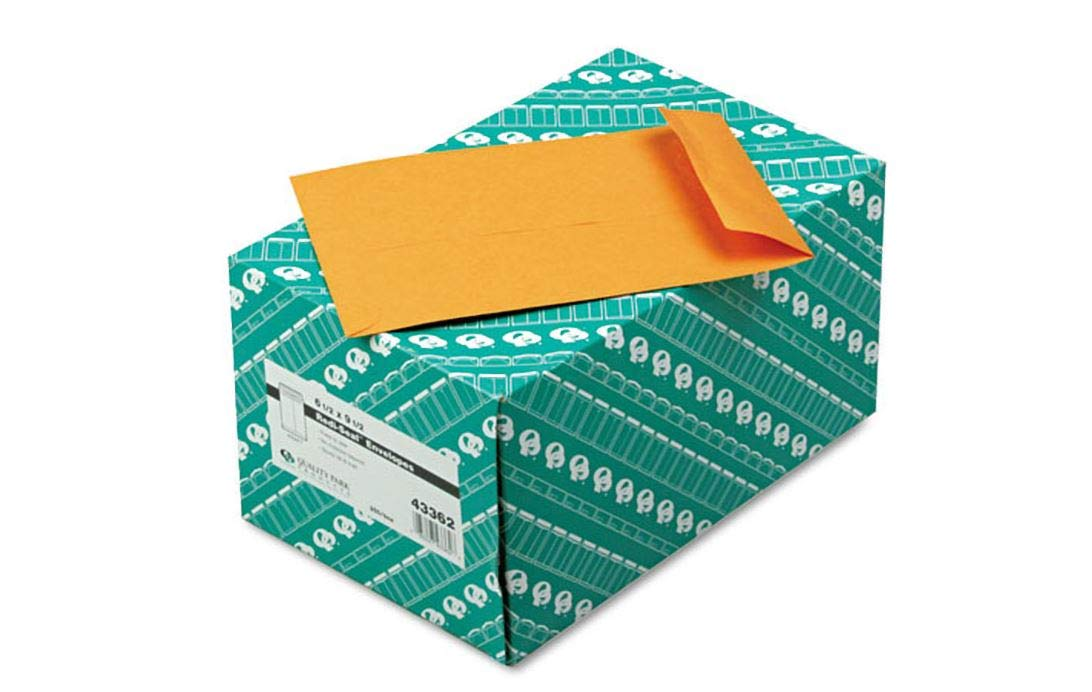 Brown Kraft 250//Box 6 1//2 x 9 1//2 Quality Park Redi-Seal Catalog Envelope