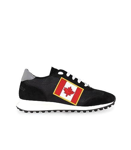 Homme Flag Patch Runner New Pour Hiking Baskets Noir Canadian pSaqZ5Hwx
