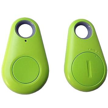 URAQT Localizador Anti-Perdida / Anti-Robo de Dispositivos De Alarma Con Mando a Distancia, Mini Bluetooth Rastreador para Mascotas/Gato/Perro/Niños