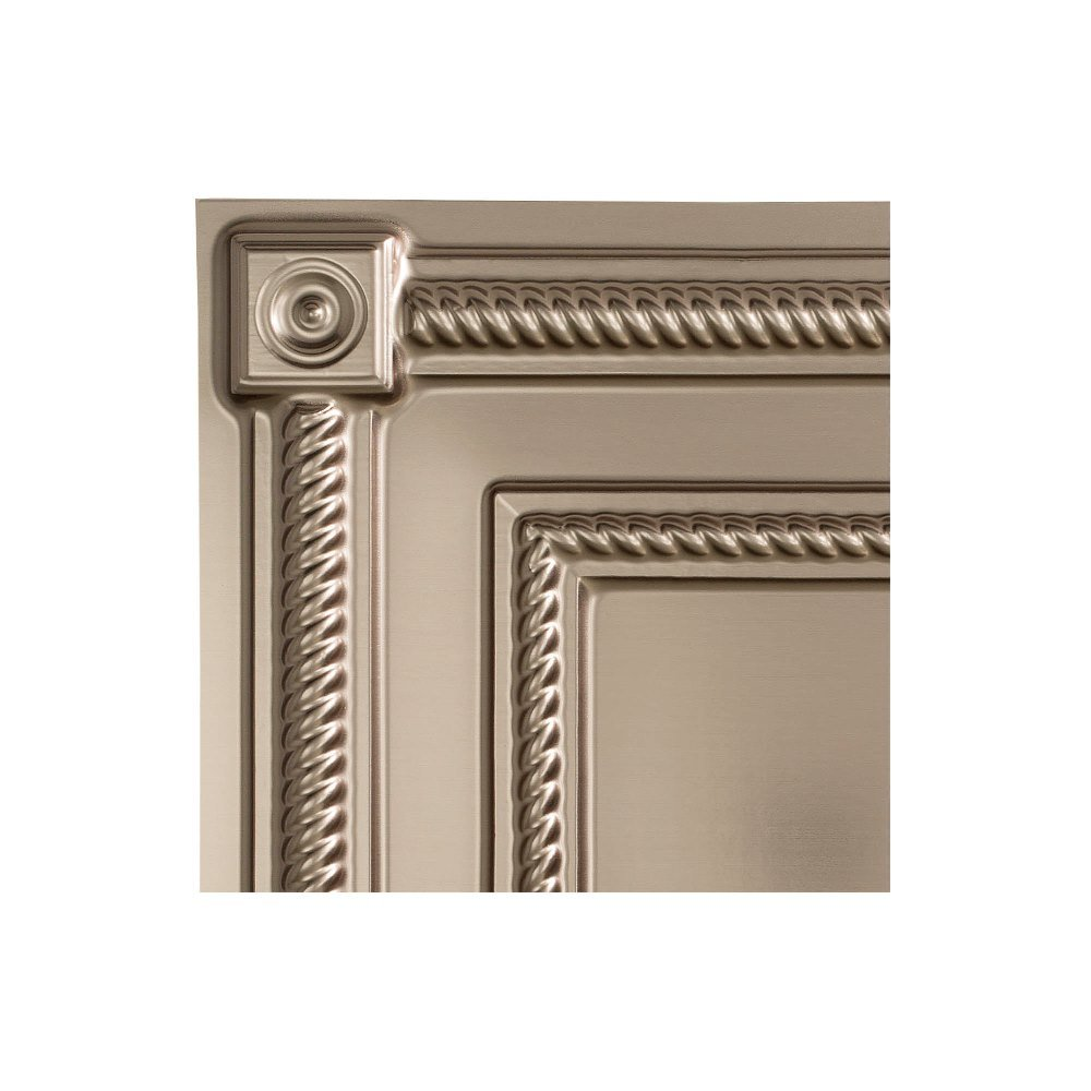 Fasade - Coffer Antique Bronze Lay in Ceiling Tile/Ceiling Panel - Fast and Easy Installation (2' X 2' Tile) ACP L61-31