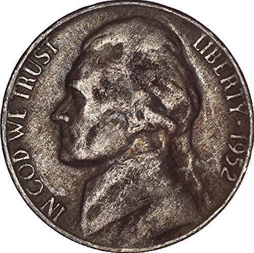 1952 Jefferson Nickel 5C Very - 1952 Silver Proof