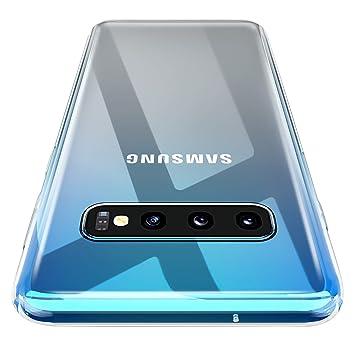 AINOYA Funda Carcasa Gel para Galaxy S10 Plus, Ultra Fina, Soft TPU de Impactos y Anti-Arañazos Espalda Case Cover para Samsung Galaxy S10 Plus - ...