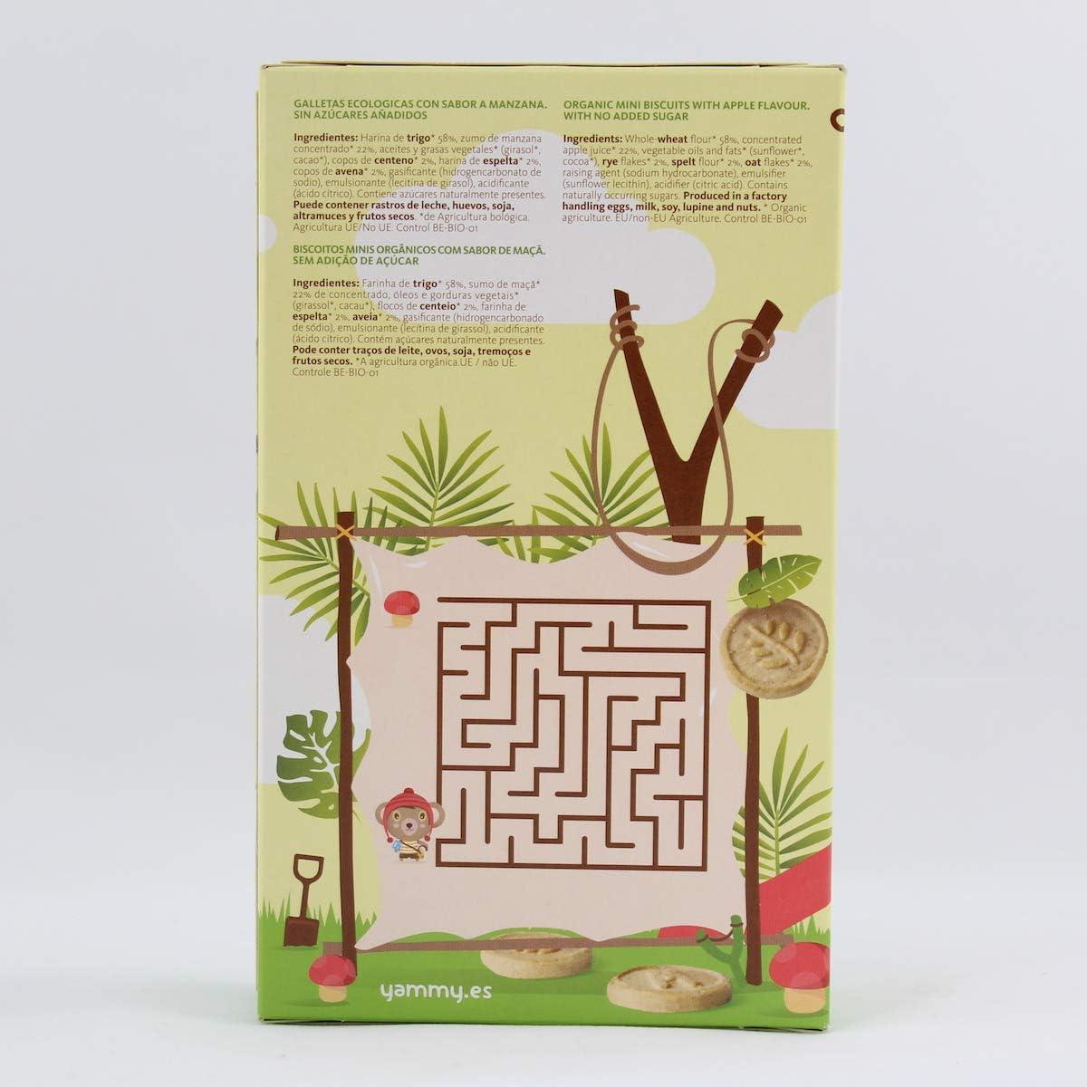 Yammy, Galleta Ecológica Infantil (Mini Letras Multicereales) - 6 de 120 gr. (Total 720 gr.): Amazon.es: Alimentación y bebidas