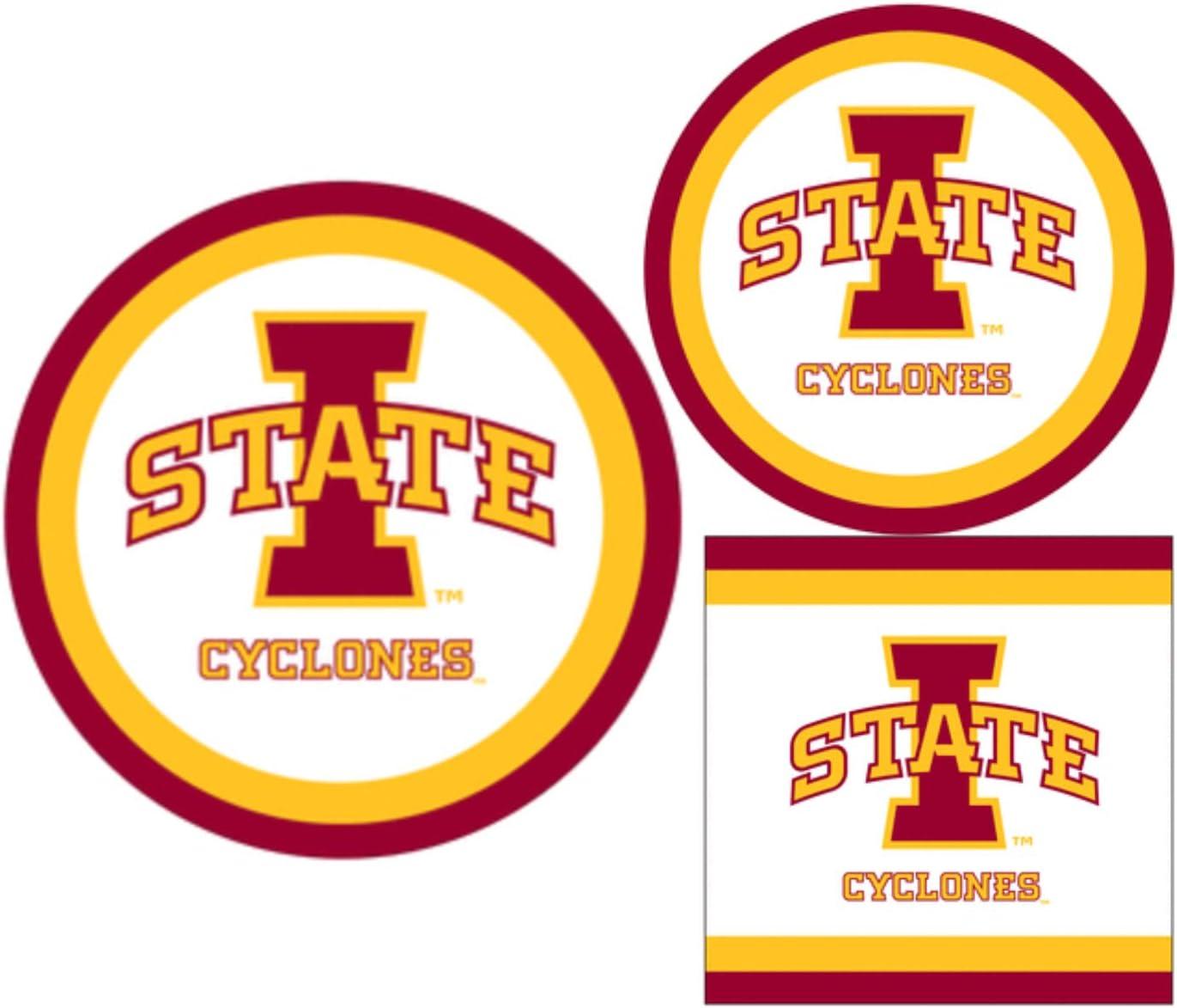 Siskiyou NCAA Iowa State Cyclones Home Decal 5 Inch