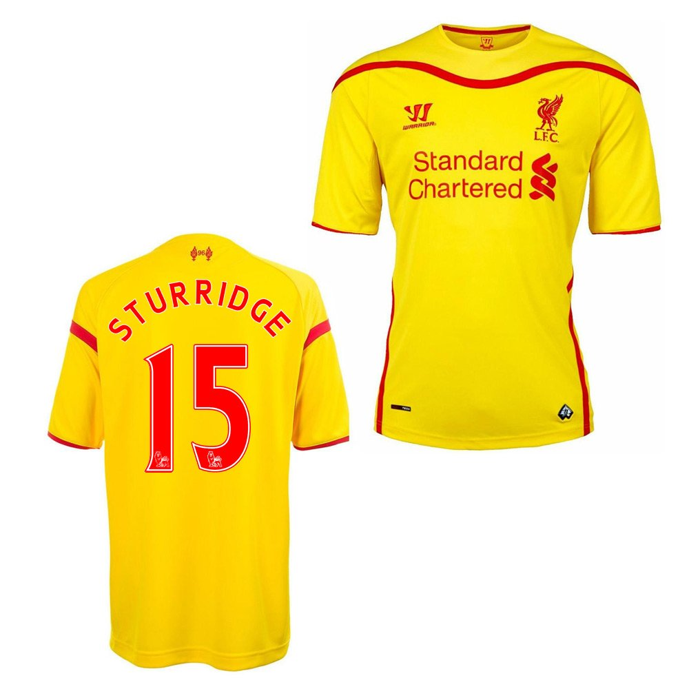 2014-15 Liverpool Away Football Shirt B01N7S8IYK Small 35-37