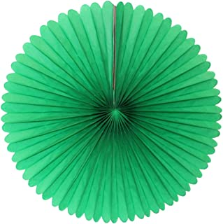 product image for 13 Inch Tissue Paper Party Fans (3-pack) (Green)