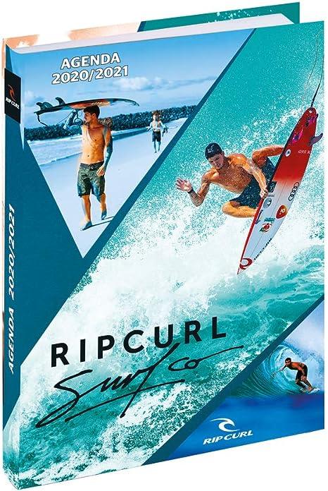 Exacompta 1861718E - Agenda Forum 1 día por página, agosto 2020 julio 2021 12 x 17 cm, Rip Curl Surf: Amazon.es: Oficina y papelería