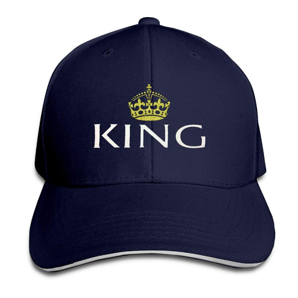 Wdskbg Updated King and Queen Couple Lover Men Baseball Cap ...