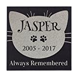 Cat Face – Always Remembered Cat Memorial Personalized Grave Stone For Cat | Granite For Sale