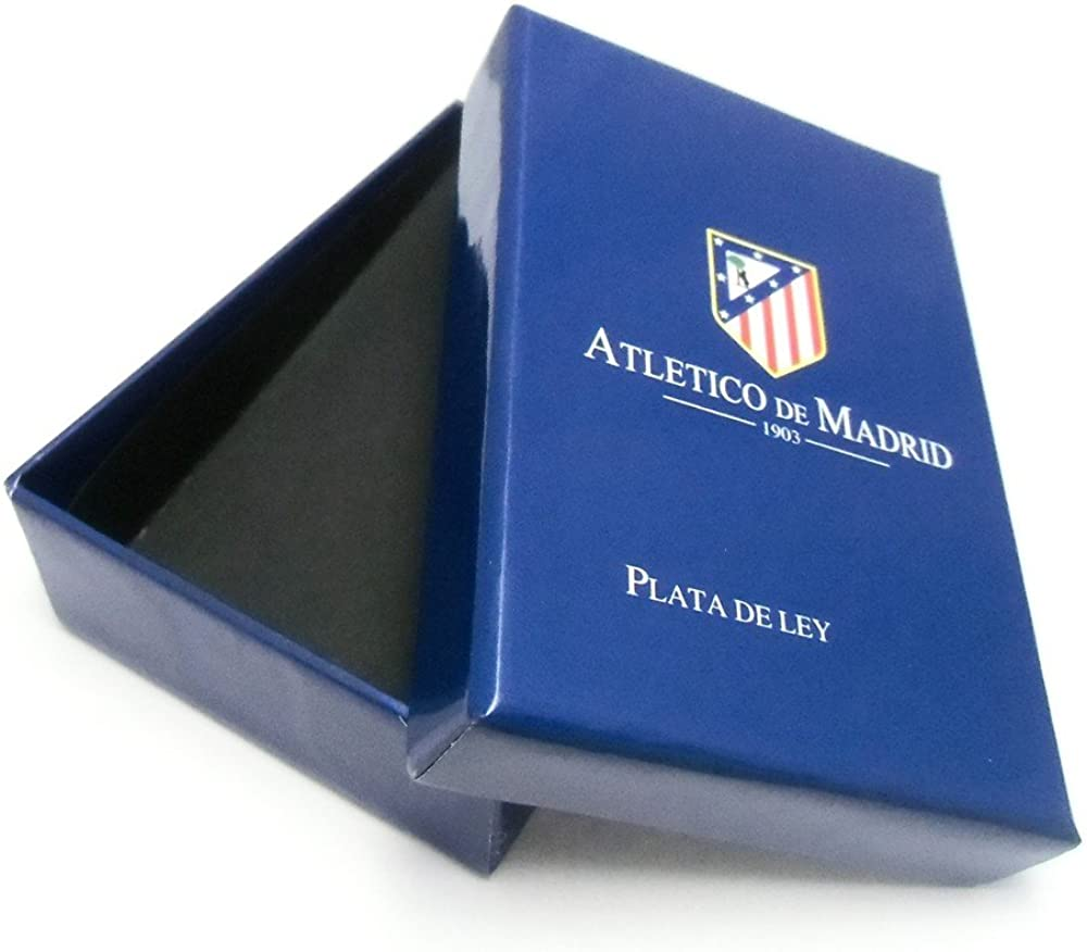 Pisacorbatas escudo Atlético de Madrid Plata de ley esmaltado ...