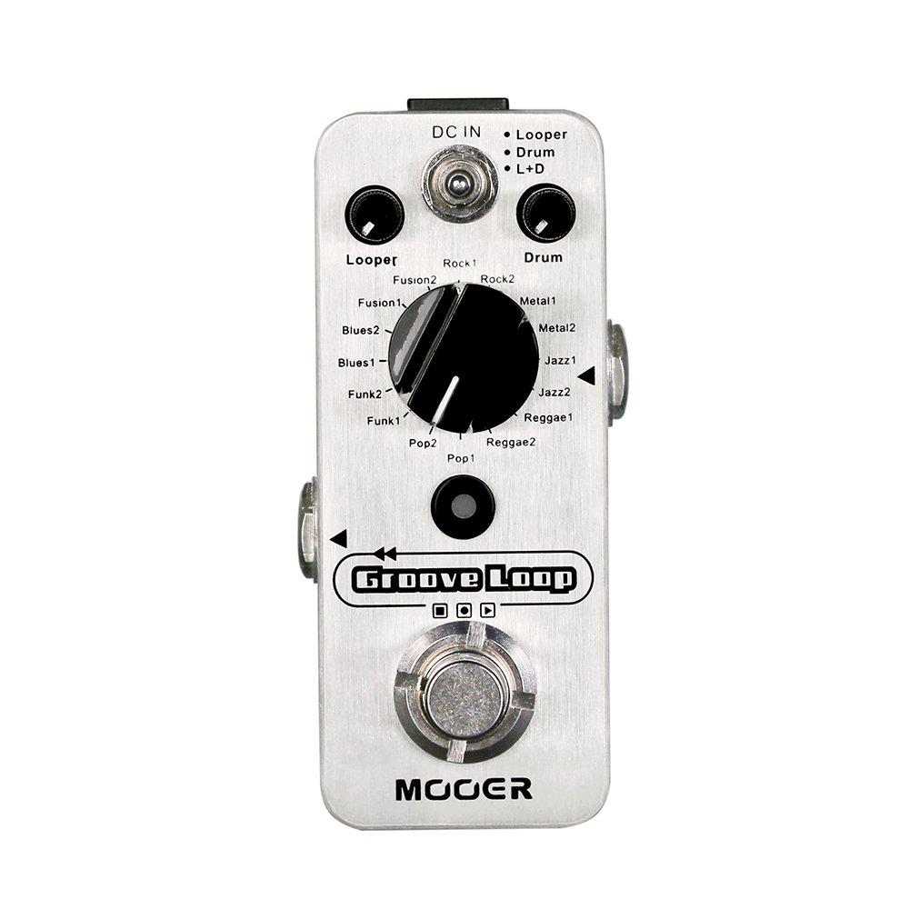 MOOER Groove Loop Drum Machine Looper Pedal Shenzhen Mooer Audio Co. Ltd