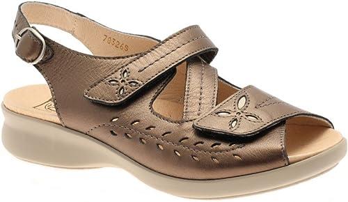 Db Shoes Sam Wide Fit Ladies Sandals 6E