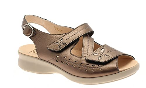 083db22eb20 Db Shoes Sam Wide Fit Ladies Sandals 6E-8E Fitting  Amazon.co.uk  Shoes    Bags
