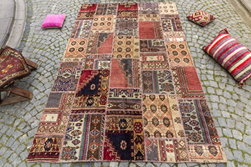 Patchwork Turkish Rug 6.56x9.84 ft (200x300 cm)