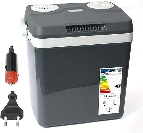 Dino Fuerza nevera del paquete de 12 V 230 V (calienta y enfría) Altura: 44 cm nevera portátil eléctrica calor Caja Termoeléctrica thermowelt para ...