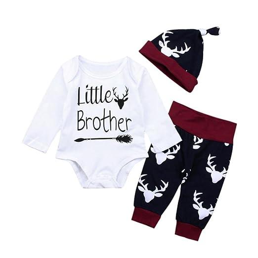 ea50a12f08b0 Amazon.com  Winsummer Newborn Baby Boy Girl Xmas Newyear Costume ...