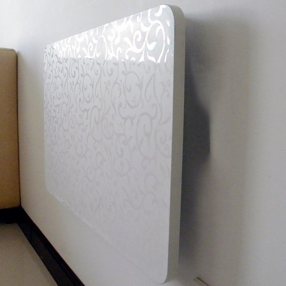 Table pliante murale Table d'appoint murale Table d'appoint de cuisine Table d'ordinateur blanc ( taille : 90*50cm