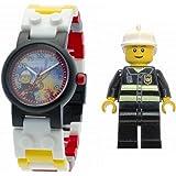 レゴ ウォッチ シティ 消防士 キッズ 腕時計 LEGO WATCH CITY Fireman こども用 時計 9003448 [並行輸入品]