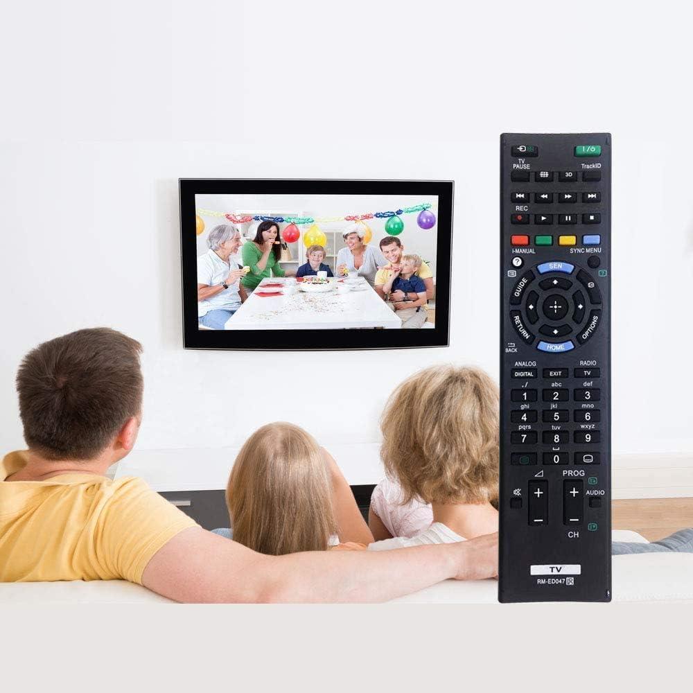 MYHGRC Reemplazo Mando a Distancia para Sony RM-ED047 para Sony bravia TV-No Requiere configuración Mando a Distancia para Sony LCD/LED Smart TV: Amazon.es: Electrónica