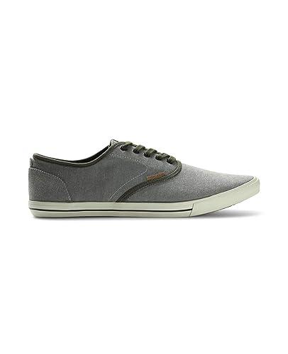 54740ffd102378 JACK   JONES Herren Jjspider Canvas Blue Sneaker  Amazon.de  Schuhe ...