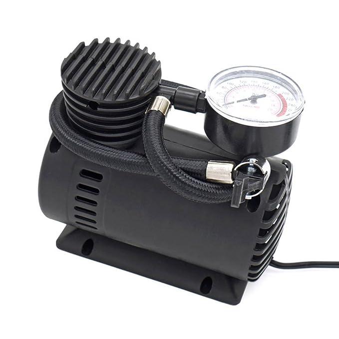 XPSD Bomba de Aire comprimido portátil Inflador de Neumáticos Pistola de inflación de neumáticos,300PSI 12V Mini Bomba eléctrica compresor de Aire Bomba ...