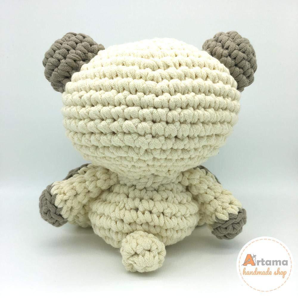 Elefante verde menta - Amigurumi - Bambola di pezza - Uncinetto ... | 1000x1000