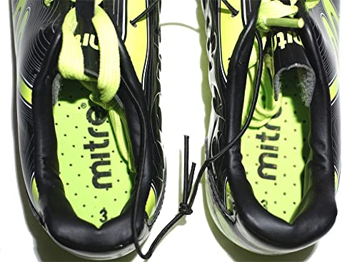 quality design 4e4c6 db0d9 Amazon.com  Phoenix by Mitre Boys Soccer Cleats, Black and Yellow (13)   Soccer