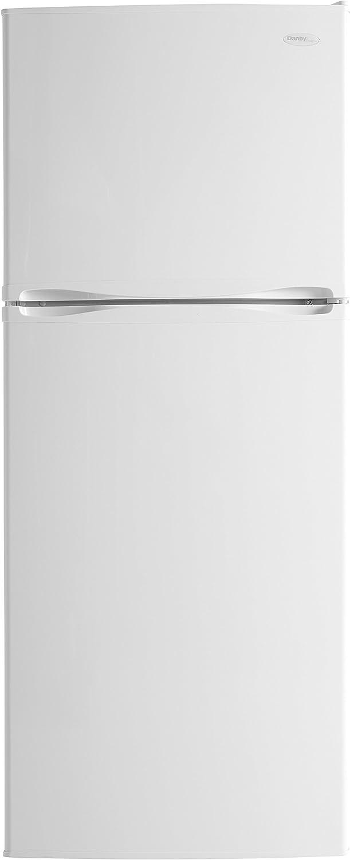 B00O2MXB94 Danby DFF100C2WDD Frost-Free Refrigerator with Top-Mount Freezer, 9.9 Cubic Feet, White 61xk-rtbntL.SL1500_