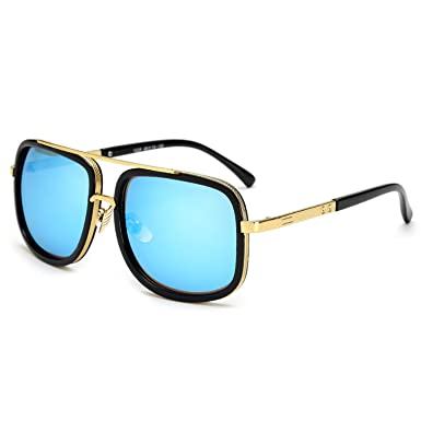 Amazon.com: Oversized Men Sunglasses men luxury brand Women ...