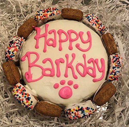 QuotHappy Barkday Dog Birthday Cake With Gourmutt Bones